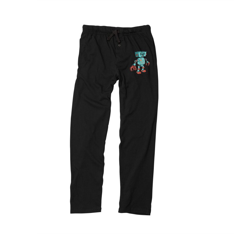 62d9d9 - Astro the Android Women's Lounge Pants by Pat Higgins Illustration