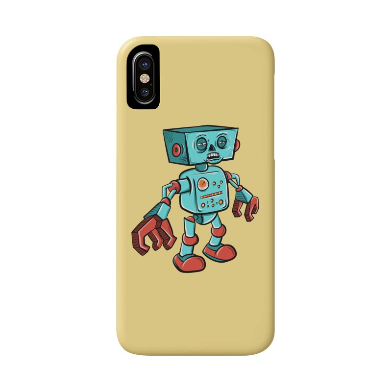 62d9d9 - Astro the Android Accessories Phone Case by Pat Higgins Illustration
