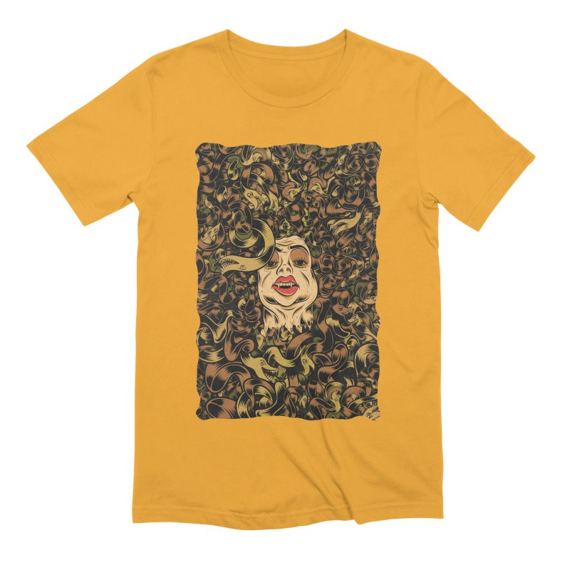 Medusa Men's Extra Soft T-Shirt by Pat Higgins