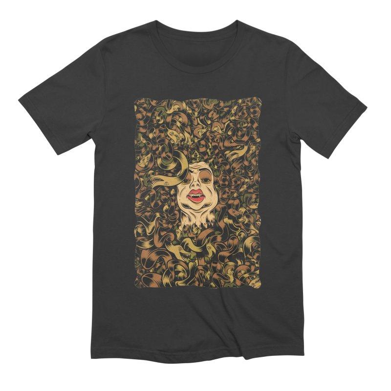 Medusa Men's Extra Soft T-Shirt by Pat Higgins