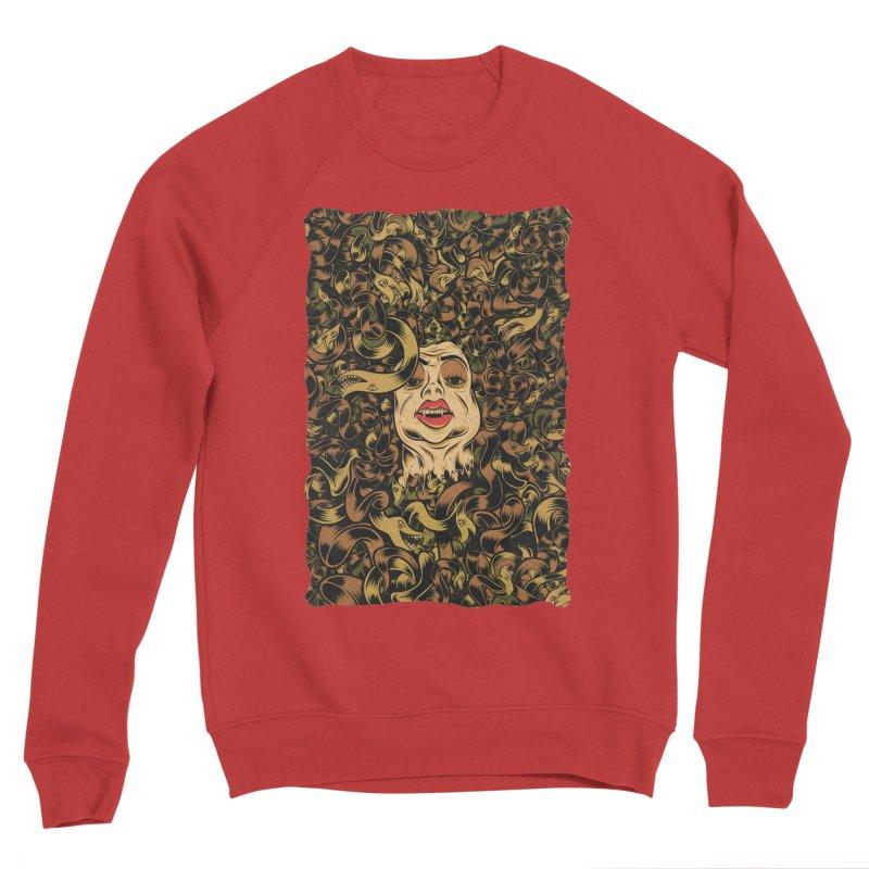 Medusa Men's Sponge Fleece Sweatshirt by Pat Higgins