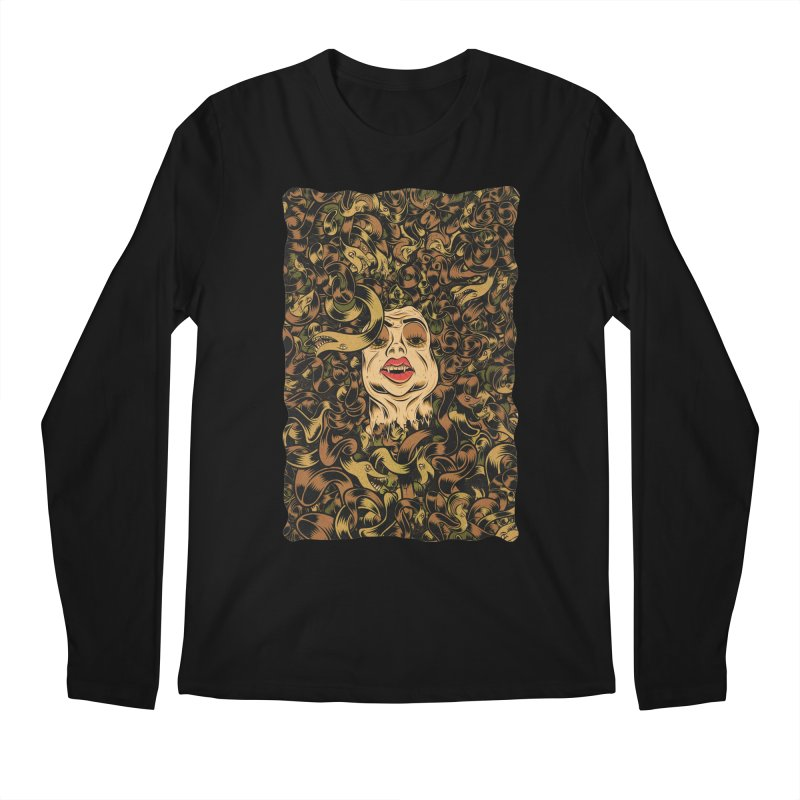Medusa Men's Regular Longsleeve T-Shirt by Pat Higgins