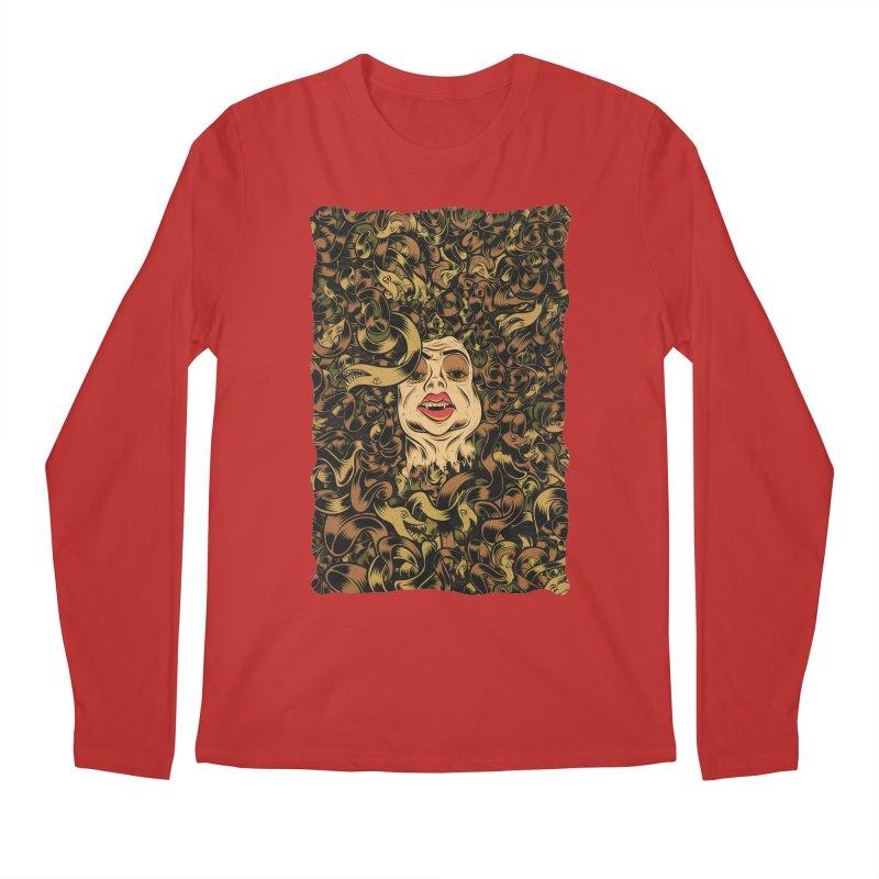 Medusa Men's Regular Longsleeve T-Shirt by Pat Higgins