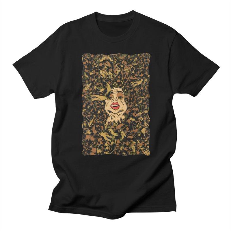 Medusa Men's Regular T-Shirt by Pat Higgins
