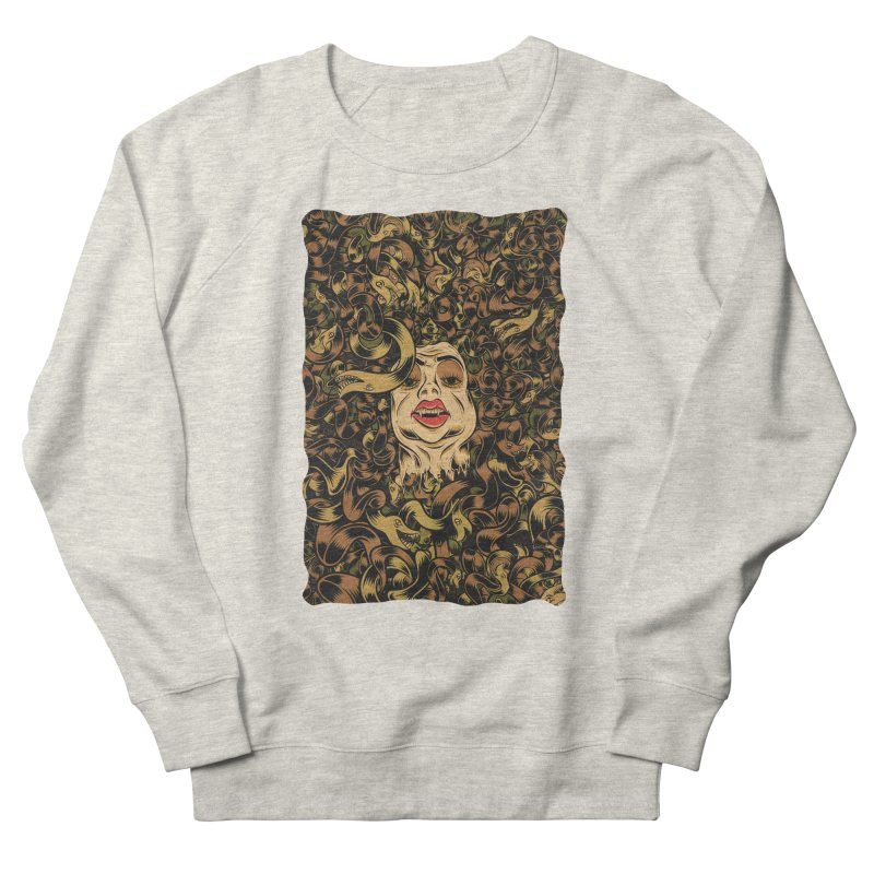 Medusa Women's Sweatshirt by Pat Higgins