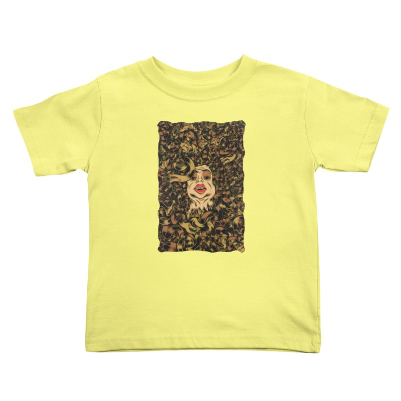 Medusa Kids Toddler T-Shirt by Pat Higgins