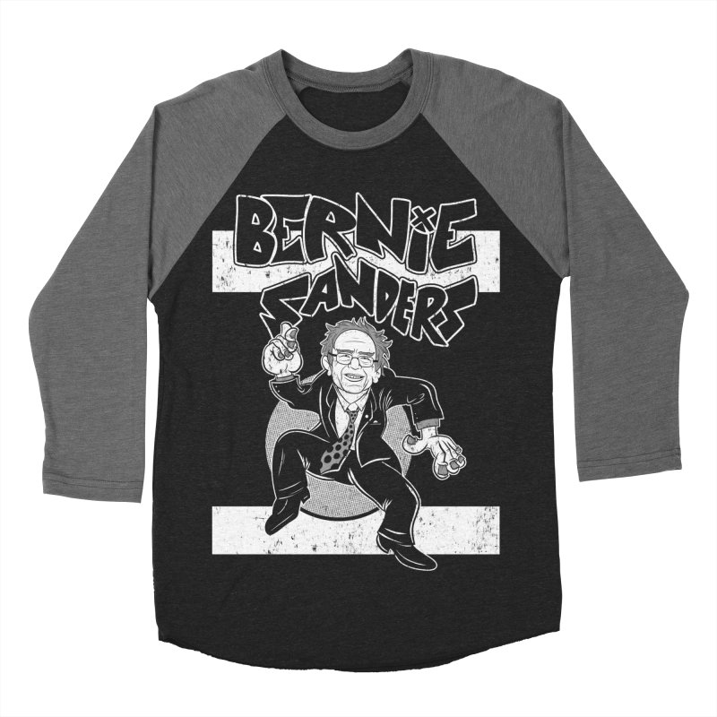 Operation Bernie Women's Baseball Triblend Longsleeve T-Shirt by Pat Higgins