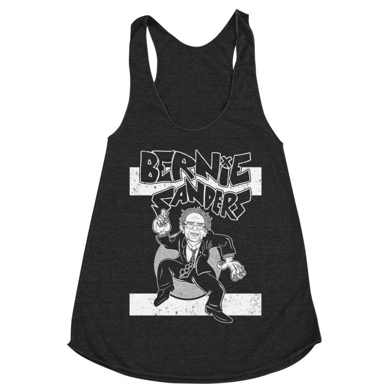 Operation Bernie Women's Racerback Triblend Tank by Pat Higgins
