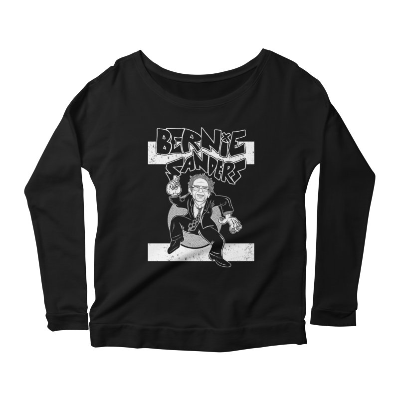 Operation Bernie Women's Scoop Neck Longsleeve T-Shirt by Pat Higgins