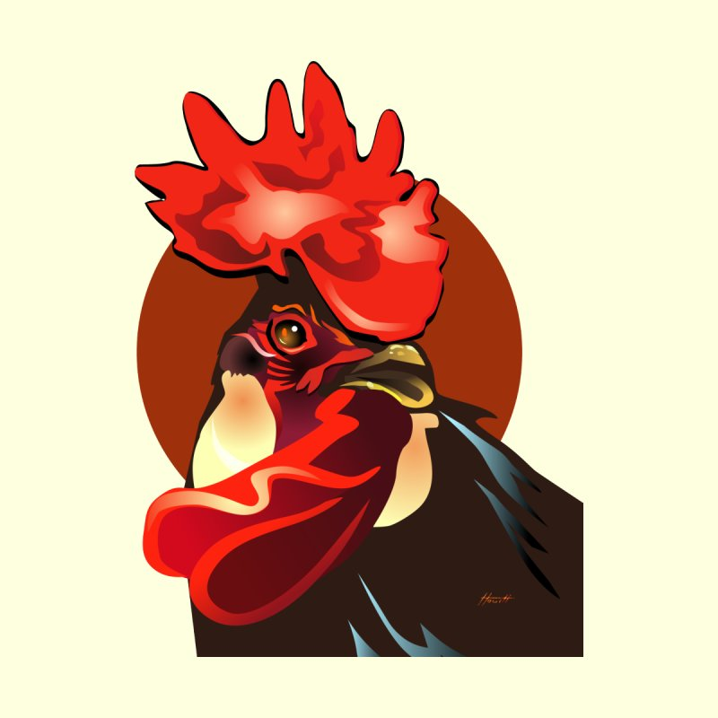 Andalusian Rooster 2 by Patricia Howitt's Artist Shop