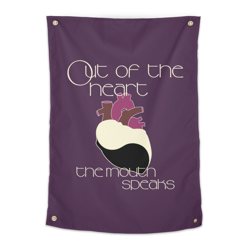 Out Of The Heart Home Tapestry by Patricia Howitt's Artist Shop