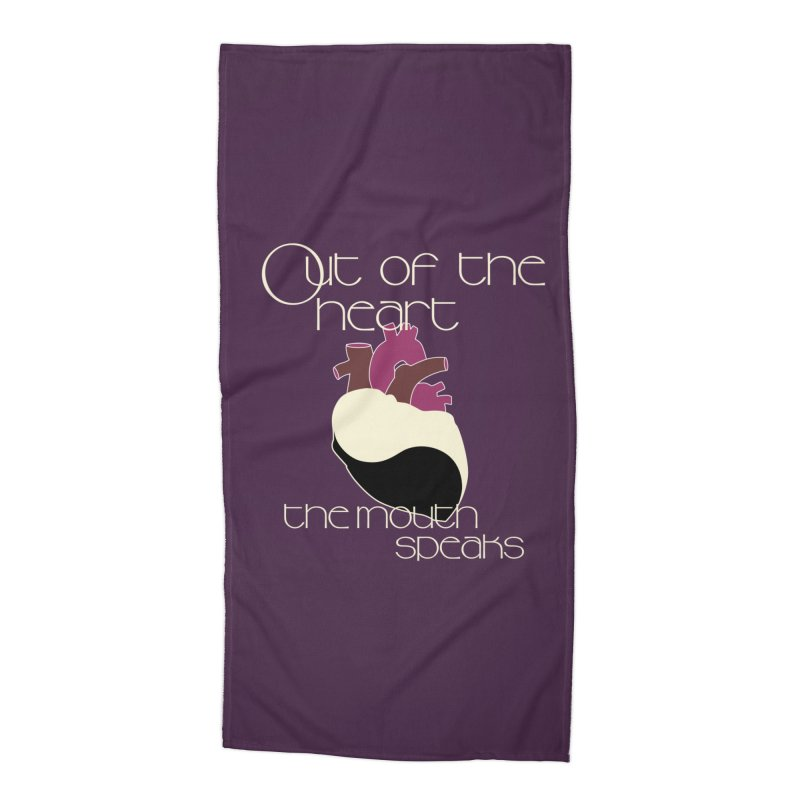 Out Of The Heart Accessories Beach Towel by Patricia Howitt's Artist Shop