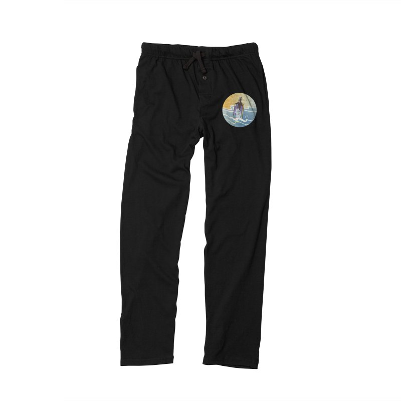 Ghost Ship Men's Lounge Pants by Patricia Howitt's Artist Shop