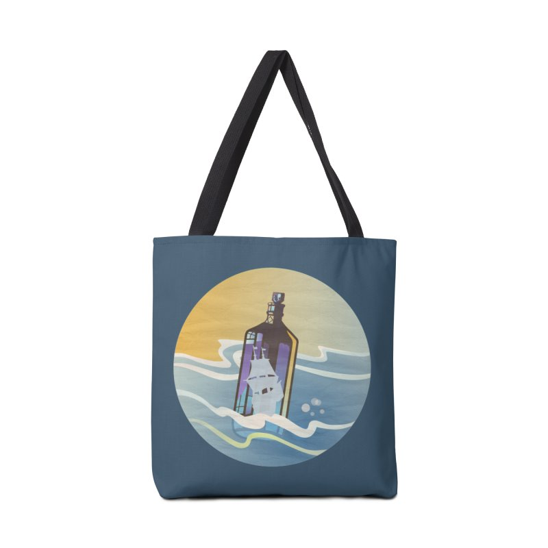 Ghost Ship Accessories Bag by Patricia Howitt's Artist Shop