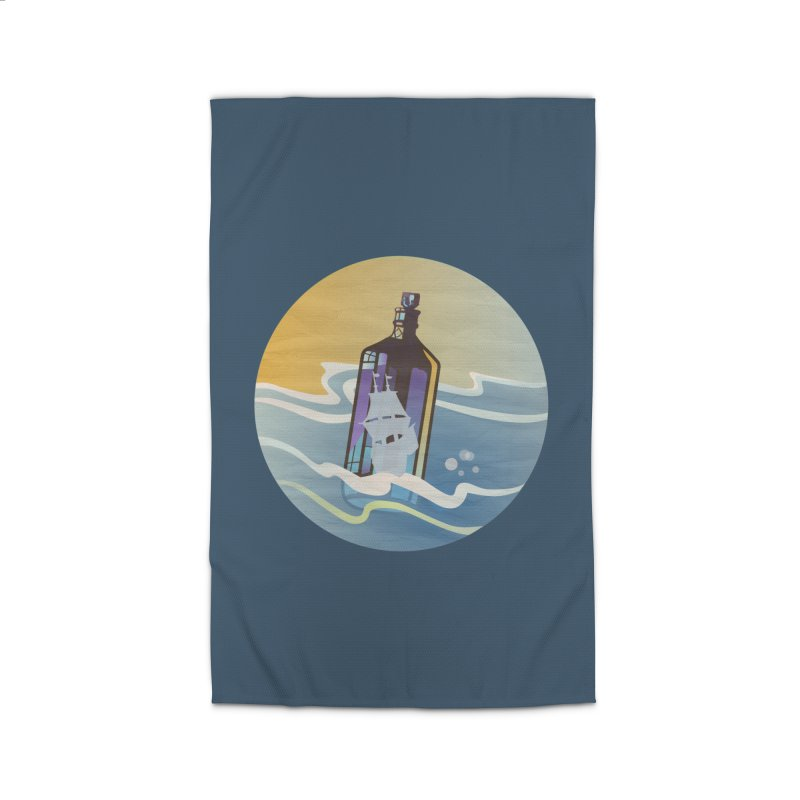 Ghost Ship Home Rug by Patricia Howitt's Artist Shop