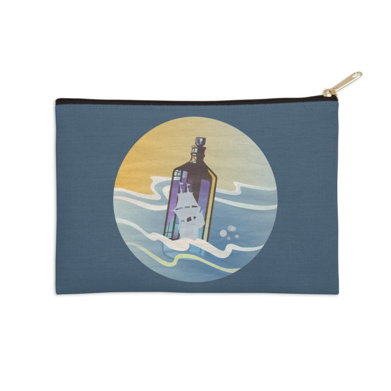 Ghost Ship Accessories Zip Pouch by Patricia Howitt's Artist Shop