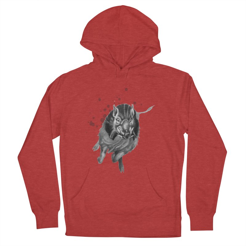 Don't Mess With Me! Women's French Terry Pullover Hoody by Patricia Howitt's Artist Shop