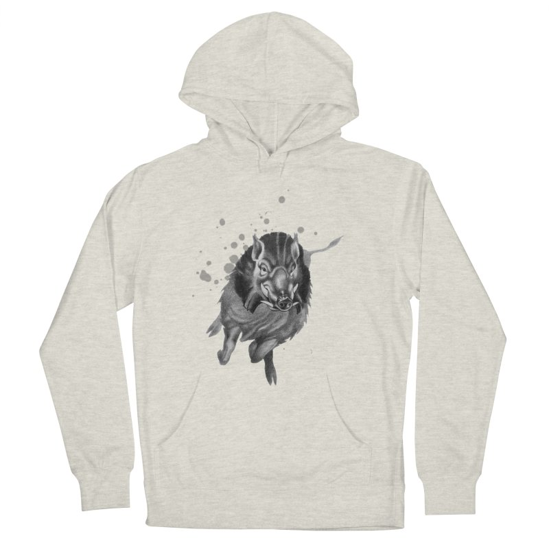 Don't Mess With Me! Men's French Terry Pullover Hoody by Patricia Howitt's Artist Shop