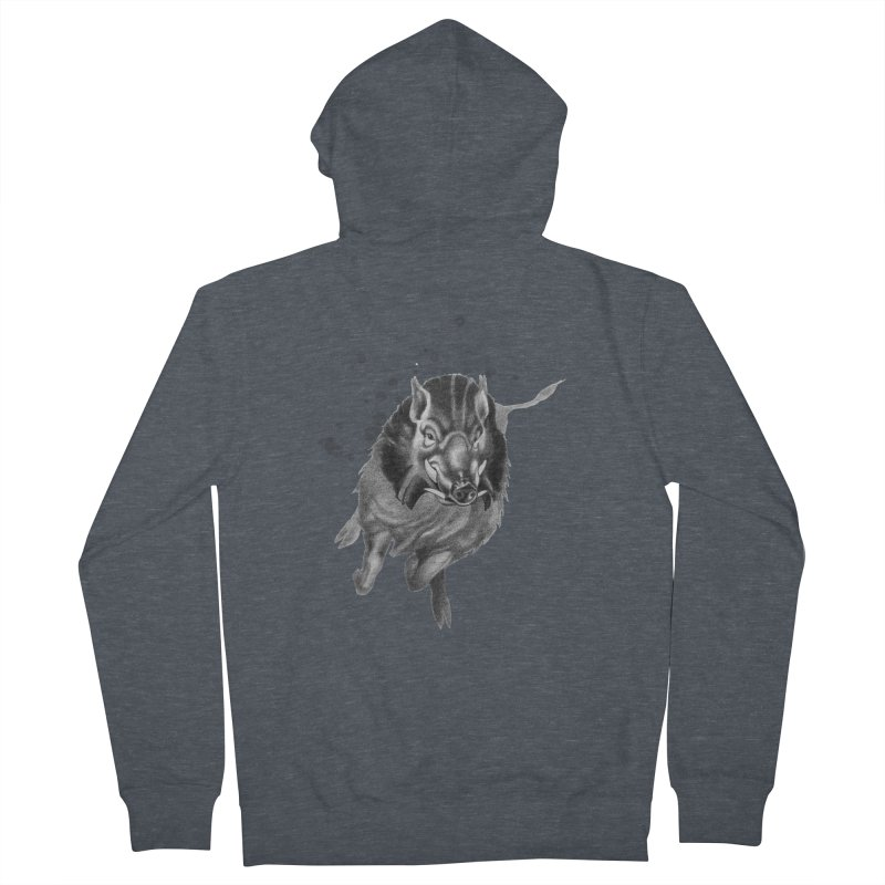 Don't Mess With Me! Men's Zip-Up Hoody by Patricia Howitt's Artist Shop