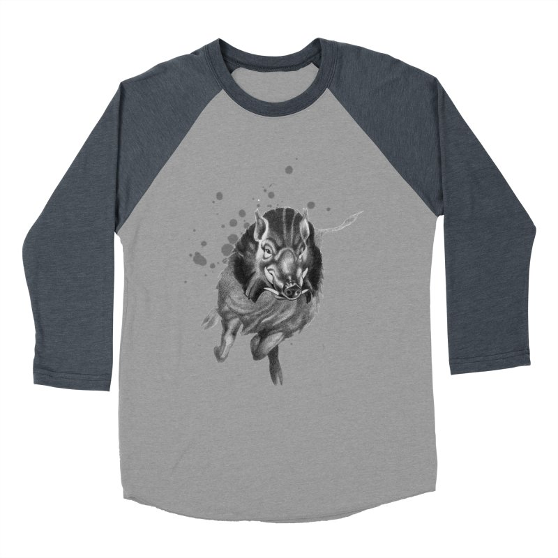Don't Mess With Me! Women's Baseball Triblend Longsleeve T-Shirt by Patricia Howitt's Artist Shop