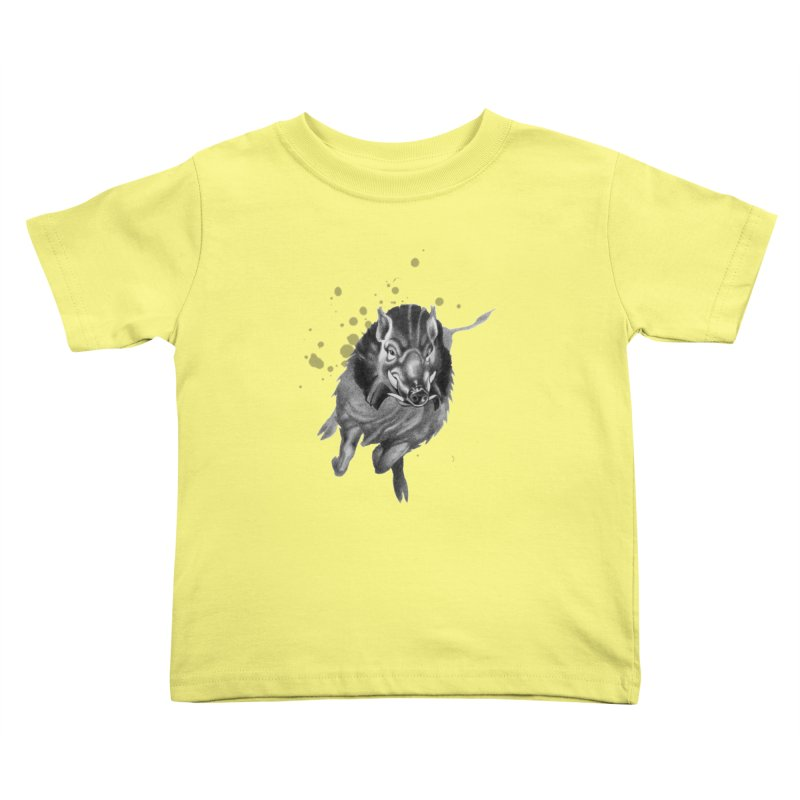 Don't Mess With Me! Kids Toddler T-Shirt by Patricia Howitt's Artist Shop