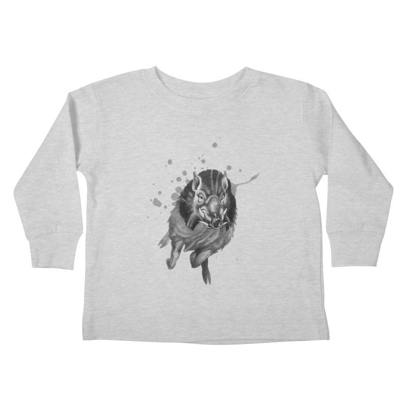 Don't Mess With Me! Kids Toddler Longsleeve T-Shirt by Patricia Howitt's Artist Shop