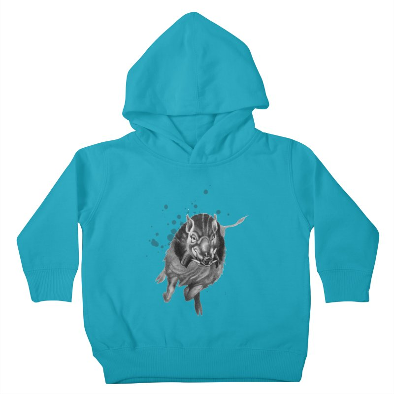 Don't Mess With Me! Kids Toddler Pullover Hoody by Patricia Howitt's Artist Shop