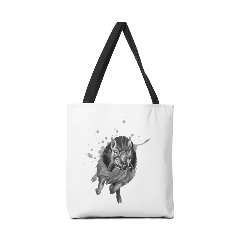 Don't Mess With Me! Accessories Bag by Patricia Howitt's Artist Shop