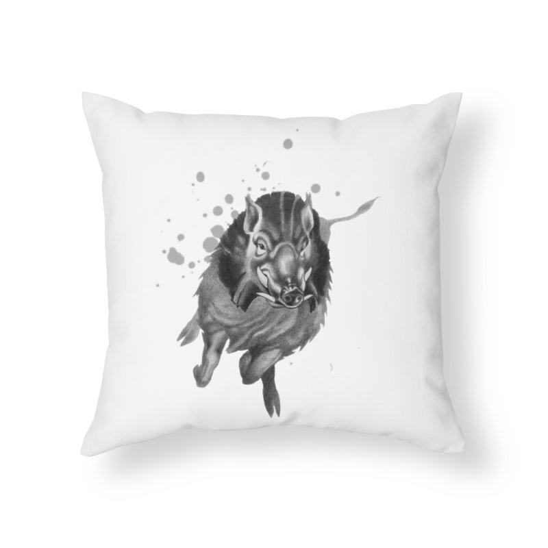 Don't Mess With Me! Home Throw Pillow by Patricia Howitt's Artist Shop