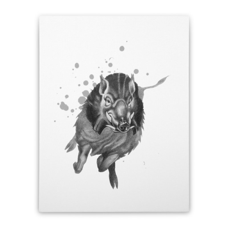 Don't Mess With Me! Home Stretched Canvas by Patricia Howitt's Artist Shop