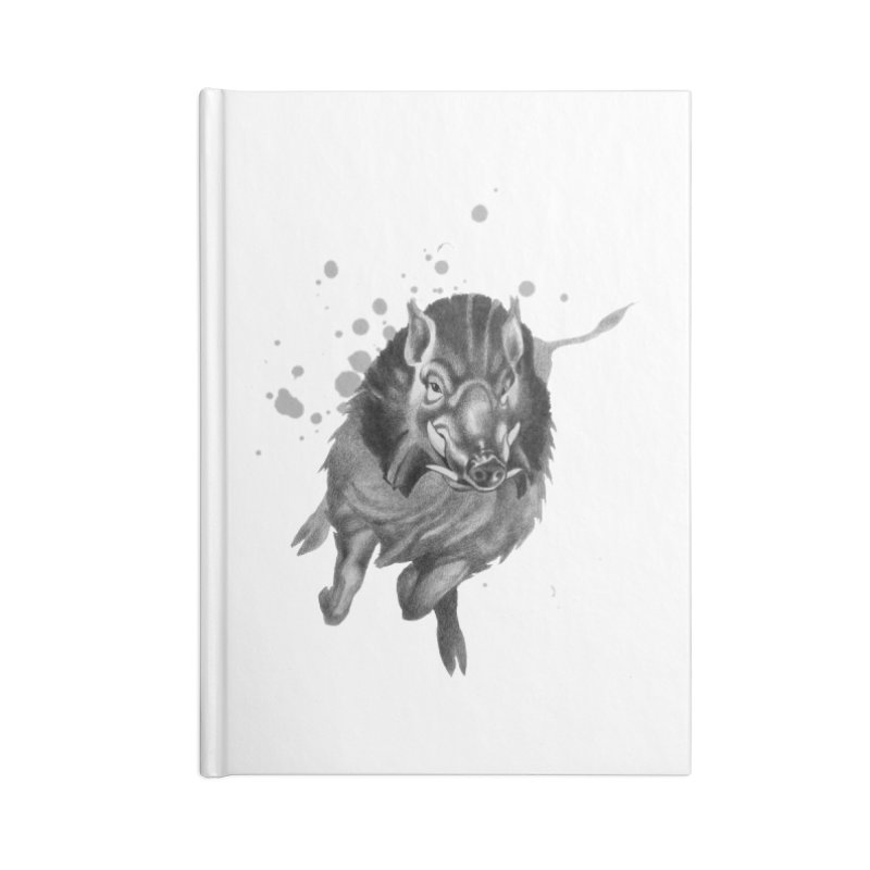Don't Mess With Me! Accessories Notebook by Patricia Howitt's Artist Shop