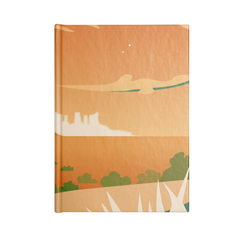 Monument Moon Accessories Notebook by Patricia Howitt's Artist Shop