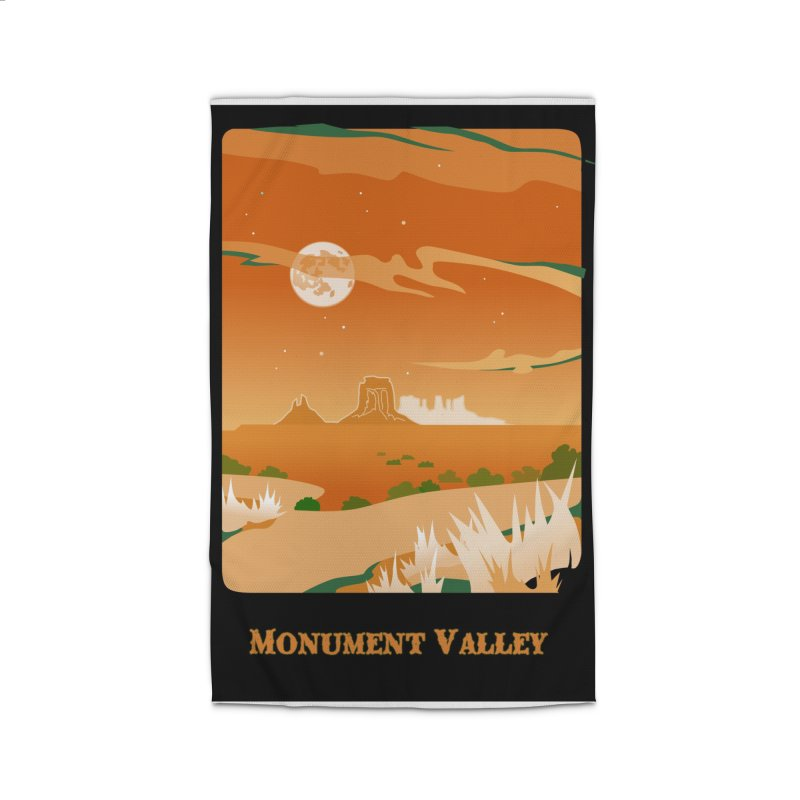 Monument Moon Home Rug by Patricia Howitt's Artist Shop