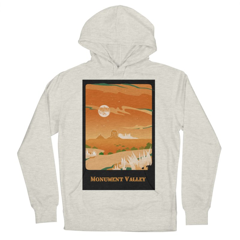 Monument Moon Men's Pullover Hoody by Patricia Howitt's Artist Shop