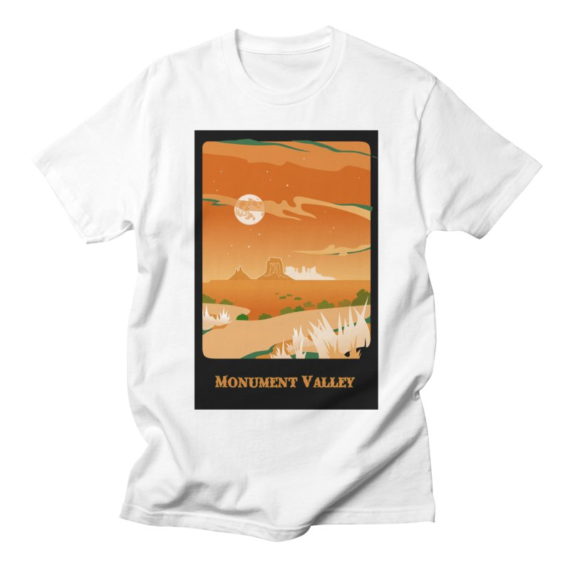 Monument Moon Women's Unisex T-Shirt by Patricia Howitt's Artist Shop