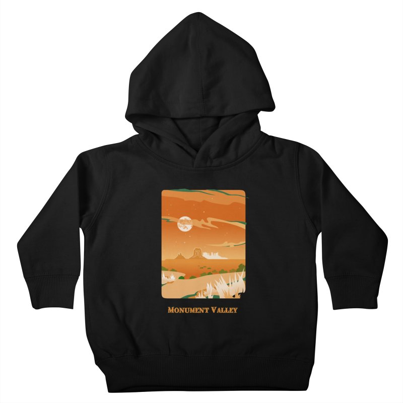 Monument Moon Kids Toddler Pullover Hoody by Patricia Howitt's Artist Shop