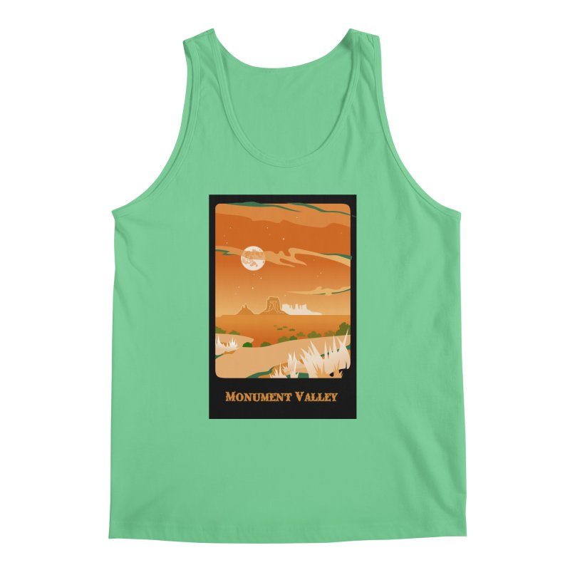 Monument Moon Men's Tank by Patricia Howitt's Artist Shop