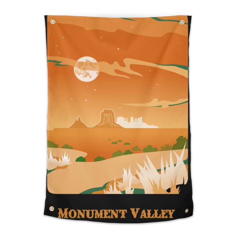 Monument Moon Home Tapestry by Patricia Howitt's Artist Shop