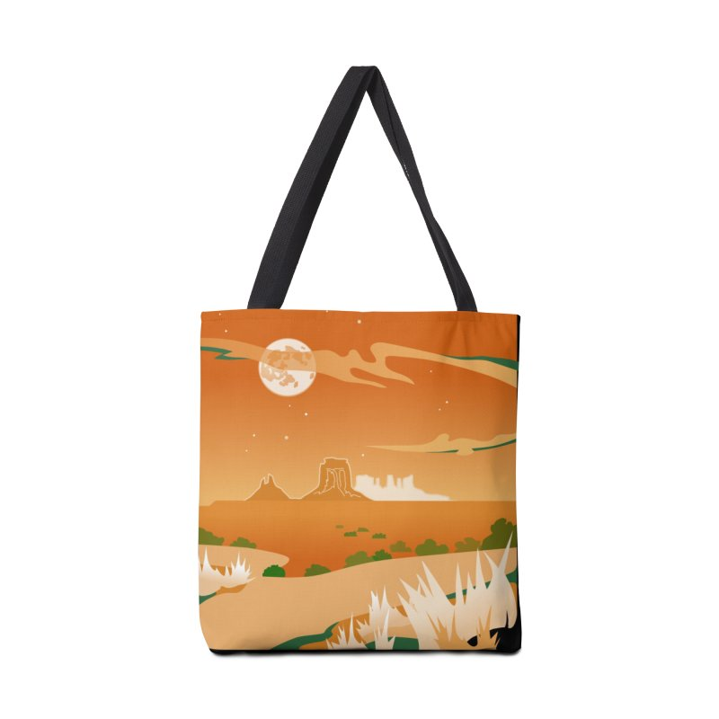 Monument Moon Accessories Bag by Patricia Howitt's Artist Shop
