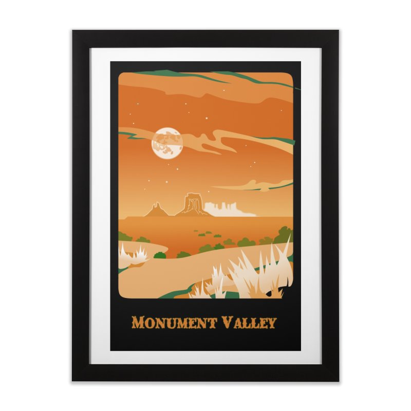 Monument Moon Home Framed Fine Art Print by Patricia Howitt's Artist Shop