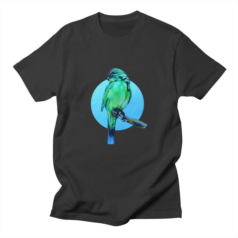 Parakeet - NZ Kakariki Women's Unisex T-Shirt by Patricia Howitt's Artist Shop