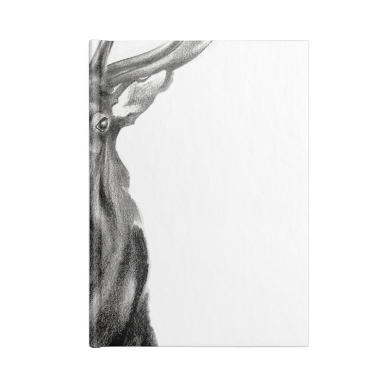 Elk 2 Accessories Notebook by Patricia Howitt's Artist Shop