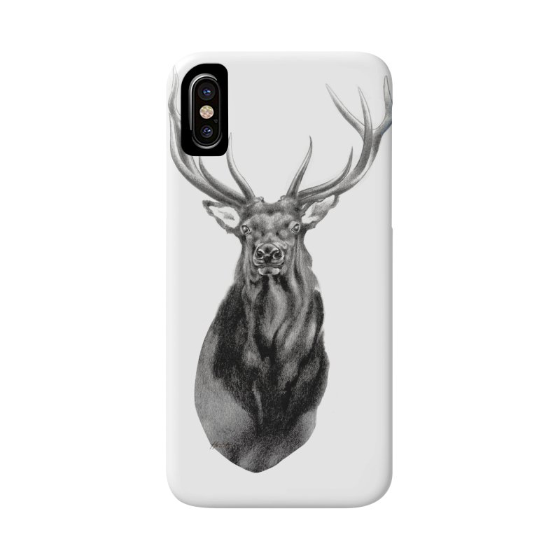 Elk 2 Accessories Phone Case by Patricia Howitt's Artist Shop