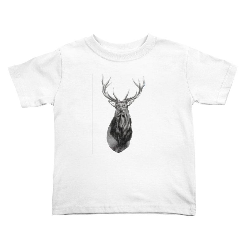 Elk 2 Kids Toddler T-Shirt by Patricia Howitt's Artist Shop