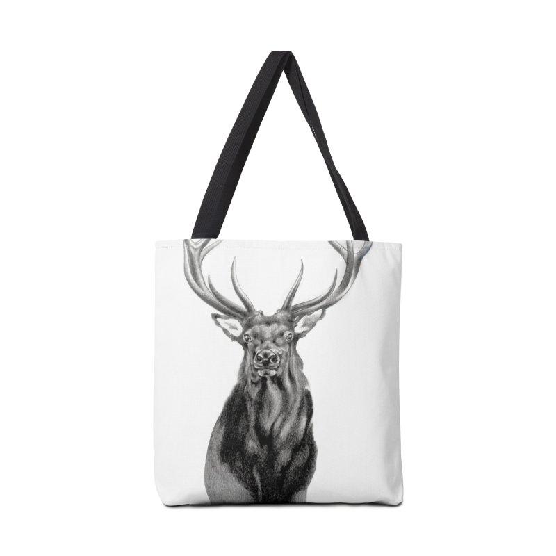 Elk 2 Accessories Bag by Patricia Howitt's Artist Shop