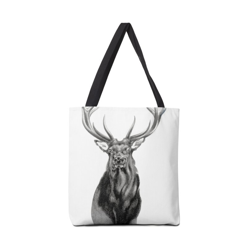 Elk 2 Accessories Bag by Patricia Howitt's Artist Shop