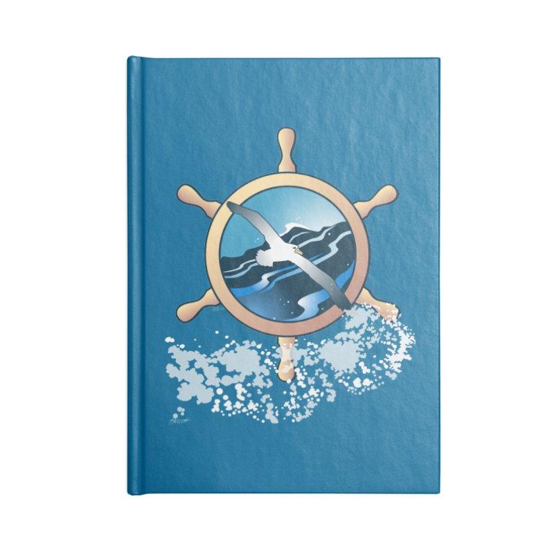 Albatross Accessories Notebook by Patricia Howitt's Artist Shop