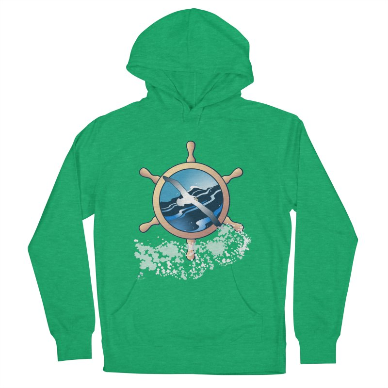 Albatross Women's French Terry Pullover Hoody by Patricia Howitt's Artist Shop