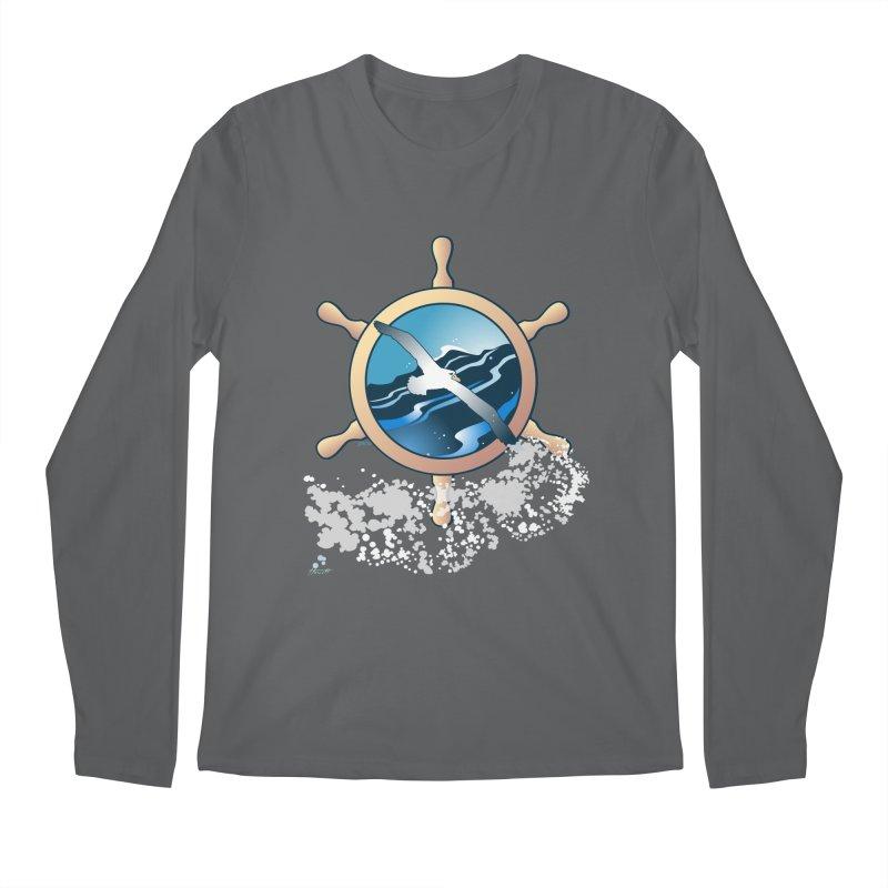 Albatross Men's Regular Longsleeve T-Shirt by Patricia Howitt's Artist Shop