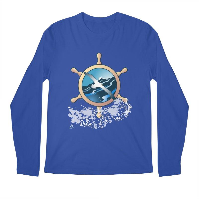 Albatross Men's Longsleeve T-Shirt by Patricia Howitt's Artist Shop